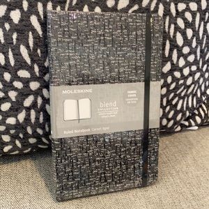 Moleskine Blk/Wh Blend Collection Ruled Notebook